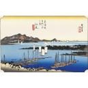 Hiroshige - Ejiri