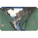 Hiroshige - Okabe