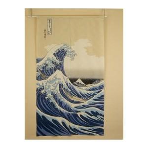 Noren - vague et mont fuji