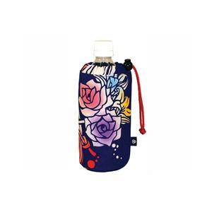 Sac pour bouteille (motif rose)