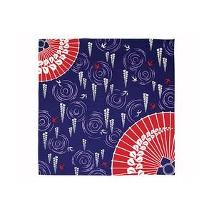 Furoshiki - Parapluie japonais et glycines