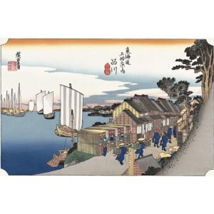 Ukiyo-e Shinagawa