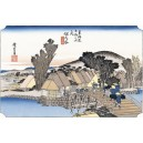Hiroshige - Hodogaya