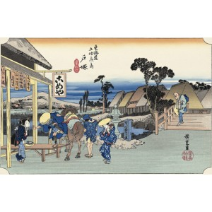 Hiroshige - Totsuka
