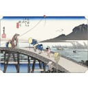 Hiroshige - Kakegawa
