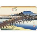 Hiroshige - Okazaki