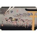 Hiroshige - Miya...